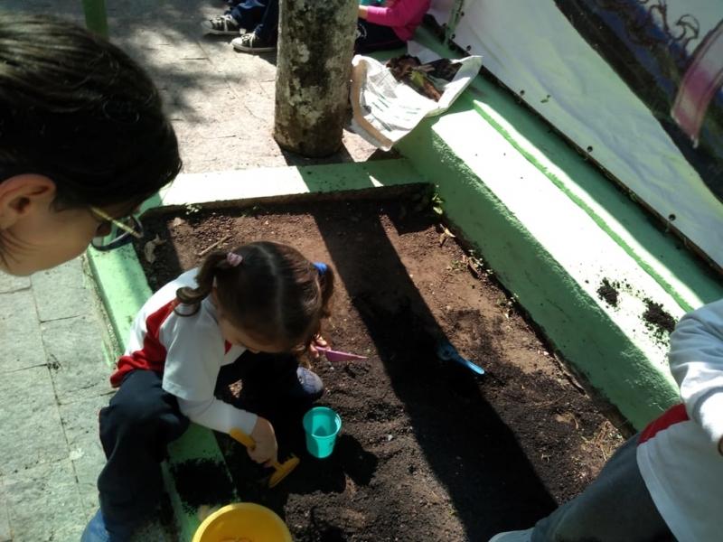 Berçário Educação Infantil Jardim Santo Amaro - Jardim de Escola 2 Anos
