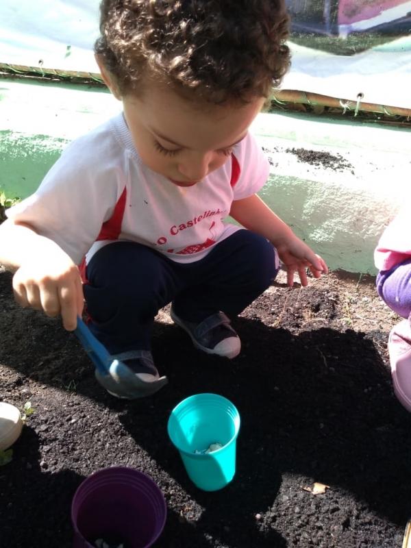 Onde Tem Berçário de Bebê Chácara Pouso Alegre - Jardim Escola Infantil