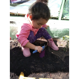 Jardim de Escola para Criança